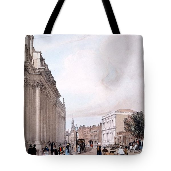 The Board Of Trade, Whitehall Tote Bag by Thomas Shotter Boys