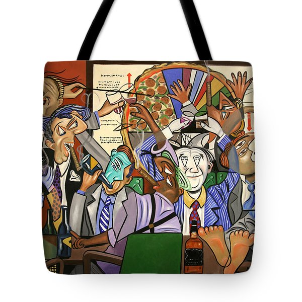 The Board Room Tote Bag by Anthony Falbo