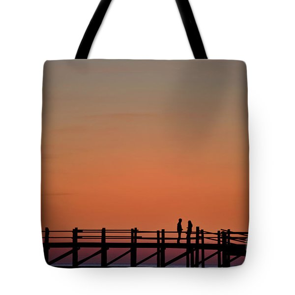The Boardwalk Tote Bag by Heiko Koehrer-Wagner