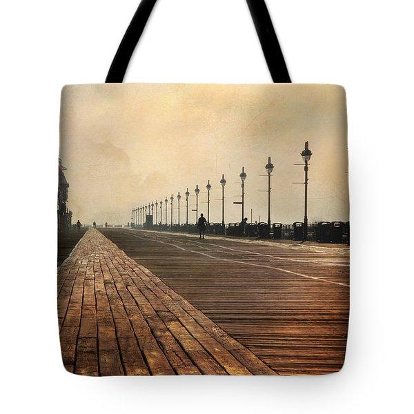 The Boardwalk Tote Bag by Lori Deiter