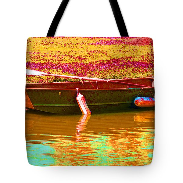 The Boat Tote Bag by Barbara McDevitt