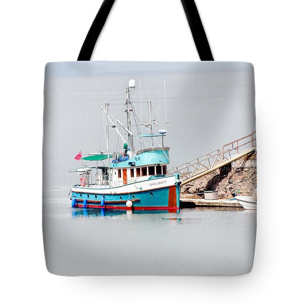 Tote Bag featuring the photograph The Boat by Jim Thompson