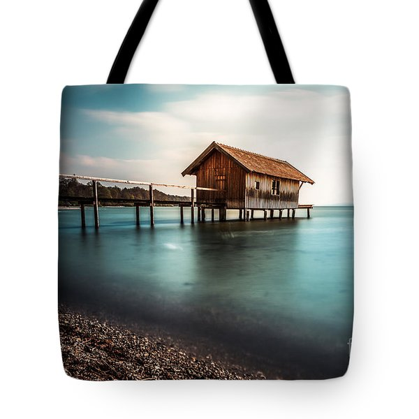 The Boats House II Tote Bag