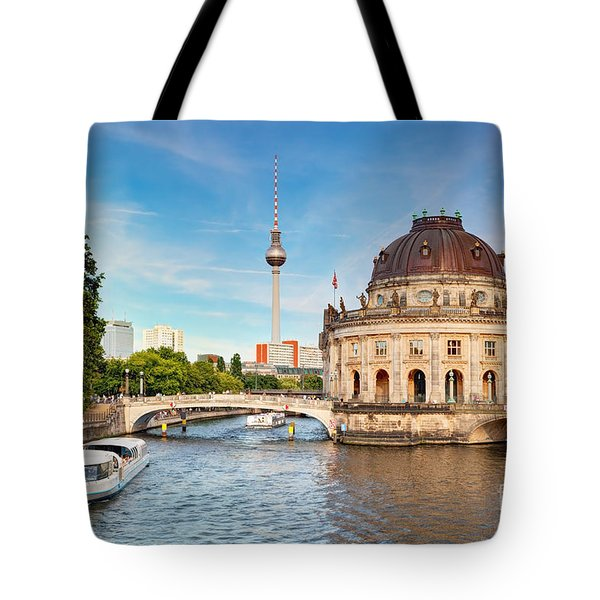 The Bode Museum Berlin Germany Tote Bag by Michal Bednarek
