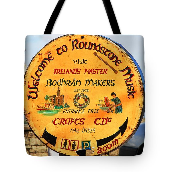 The Bodhran Makers Tote Bag