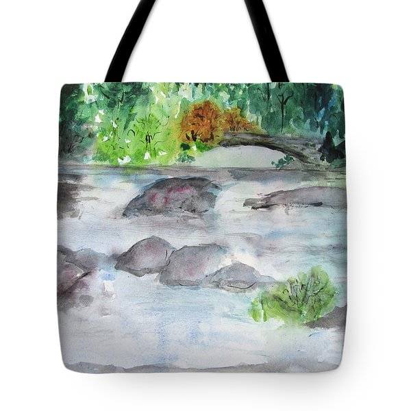 The Bog On Tupper Lake Tote Bag