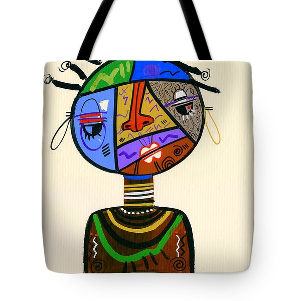 The Bold Face Of Time Tote Bag
