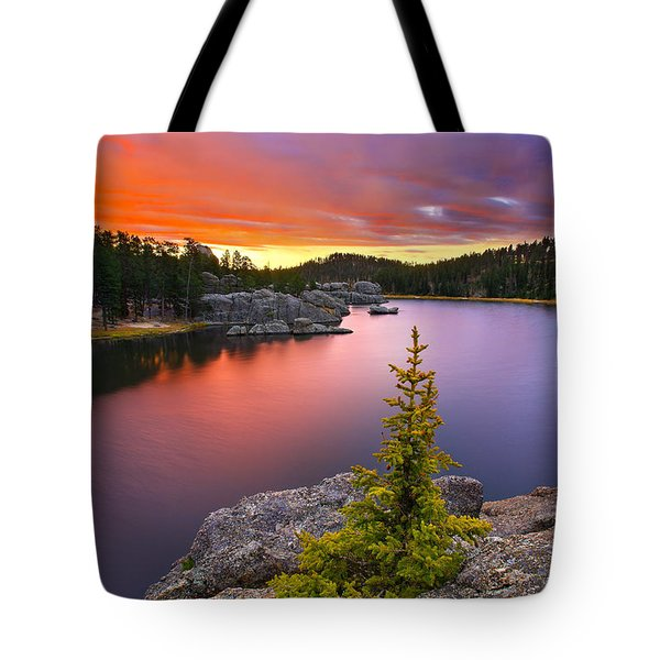 Tote Bag featuring the photograph The Bonsai by Kadek Susanto