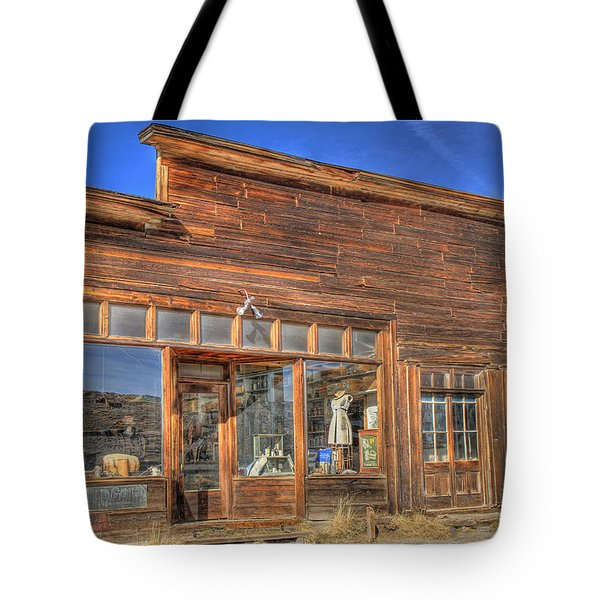 The Boone Store And Warehouse Tote Bag by Donna Kennedy
