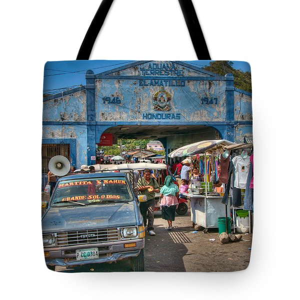 The Border Boogie Tote Bag by Britt Runyon