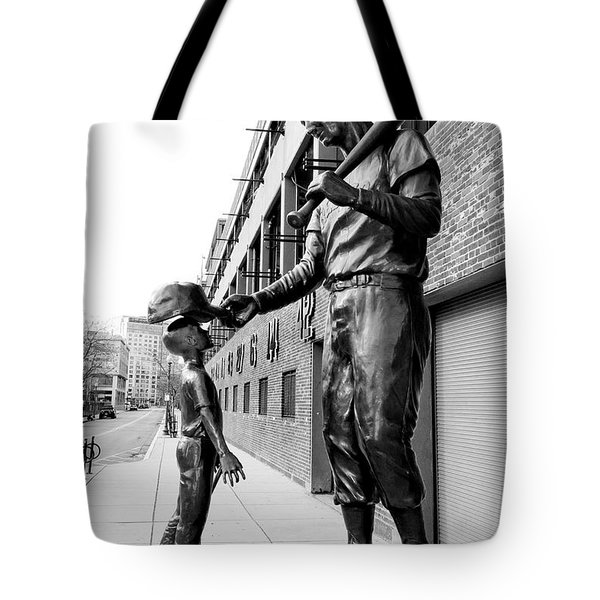 The Boston Legend Tote Bag by Greg Fortier