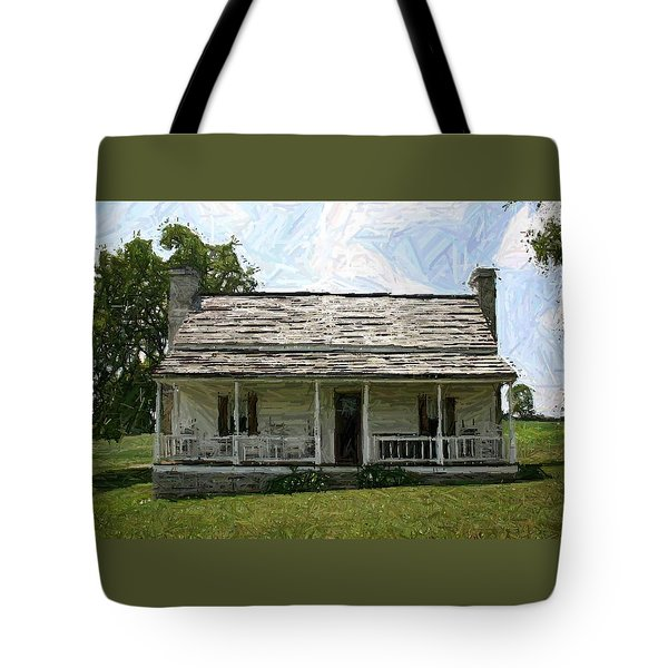 The Bottom House II - Perryville Ky Tote Bag by Thia Stover