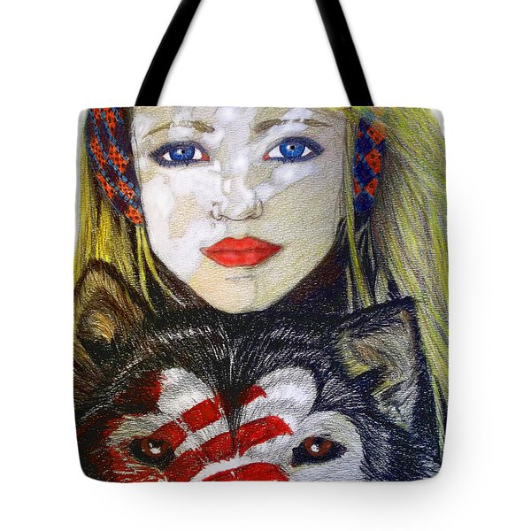 The Bounding Tote Bag by Justin Moore