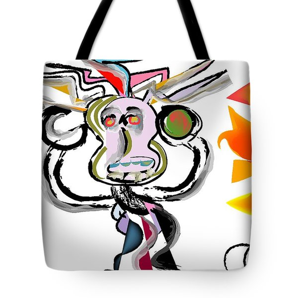 The Boxer Tote Bag by Andy Cordan