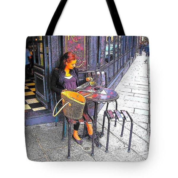 The Brasserie In Paris Tote Bag