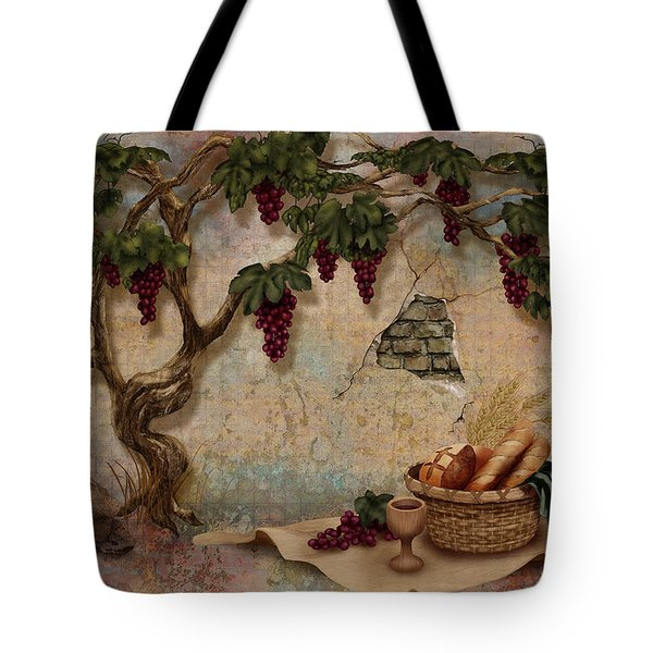 The Bread And The Vine Tote Bag