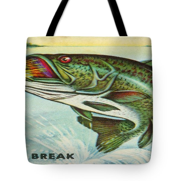 Tote Bag featuring the digital art The Break by Cathy Anderson