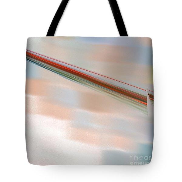 The Break Tote Bag by Victoria Harrington