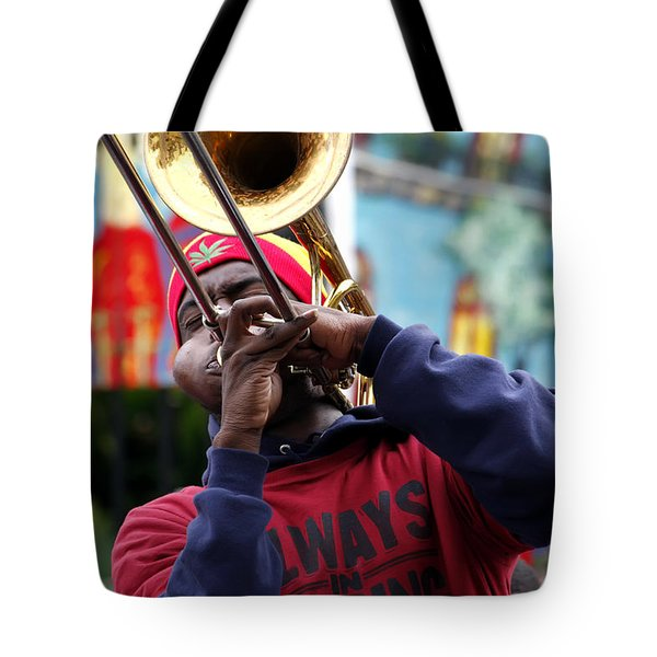 The Breath Of Jazz Tote Bag