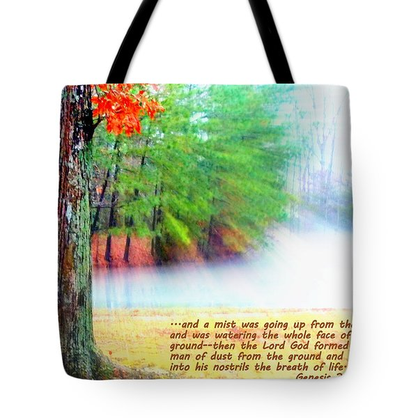 The Breath Of Life Tote Bag