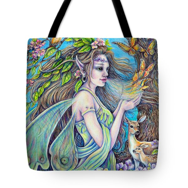 The Breath Of Spring Tote Bag