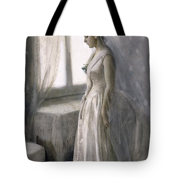 The Bride Tote Bag by Anders Leonard Zorn