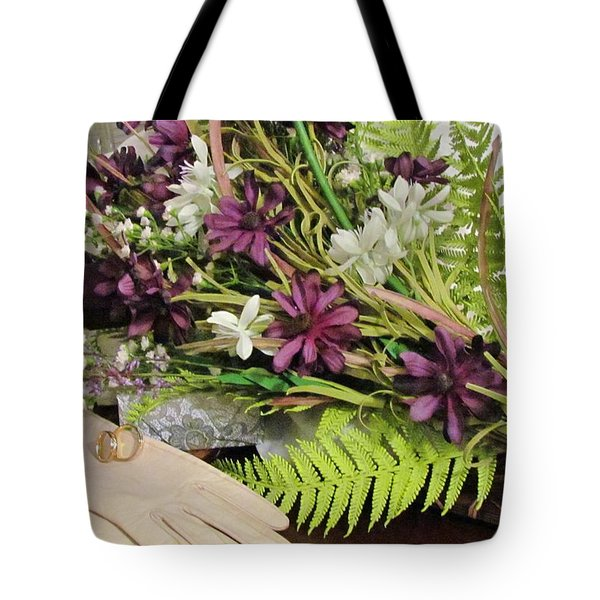 Tote Bag featuring the photograph The Bride To Be by Cynthia Guinn