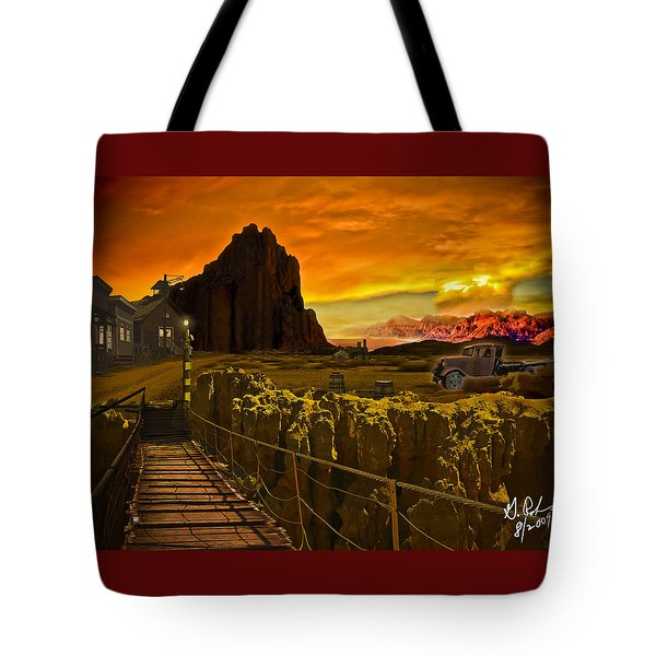 The Bridge Tote Bag by Gerry Robins