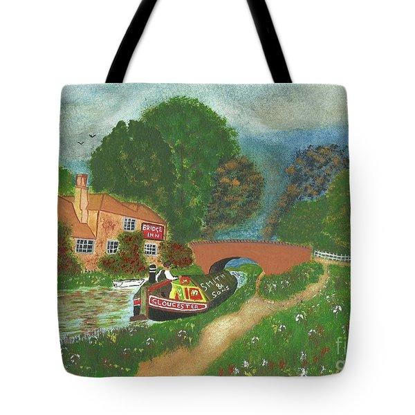 The Bridge Inn Tote Bag by John Williams