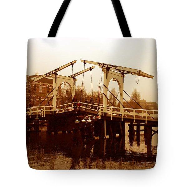 The Bridge Tote Bag by Menachem Ganon
