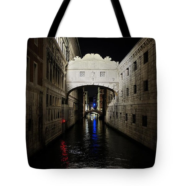 The Bridge Of Sighs Tote Bag