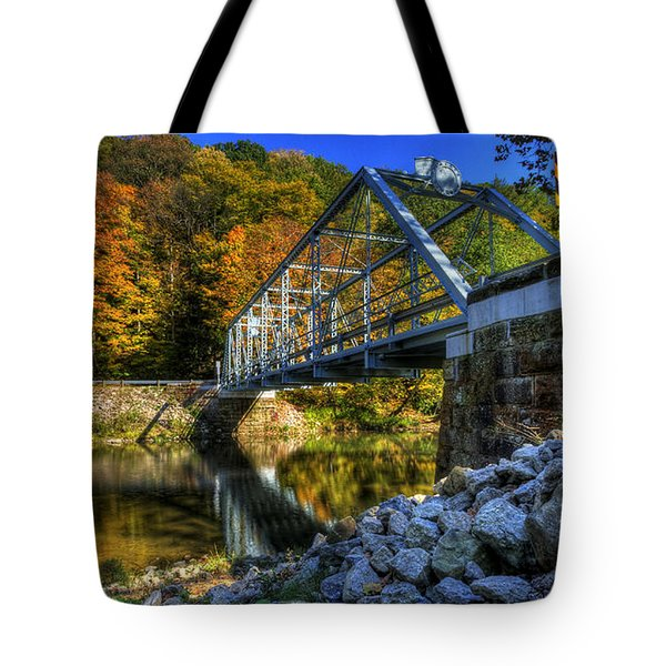 The Bridge Over Beaver Creek Tote Bag