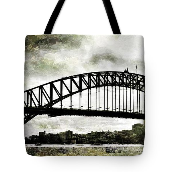 The Bridge Spattled Tote Bag