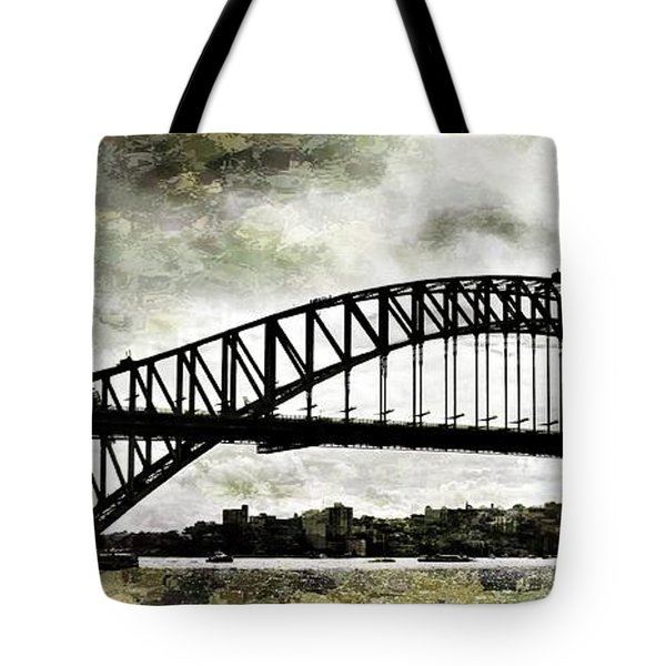 The Bridge Spattled Tote Bag
