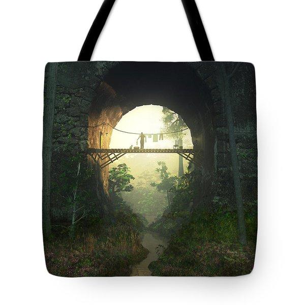 The Bridge Under The Bridge Tote Bag