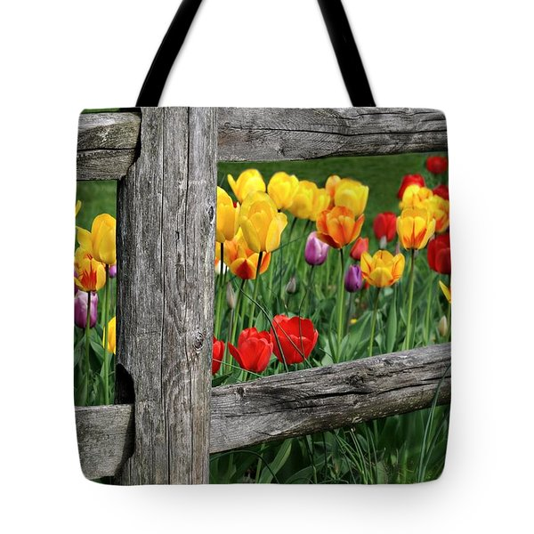 The Brighter Side Tote Bag by Diana Angstadt