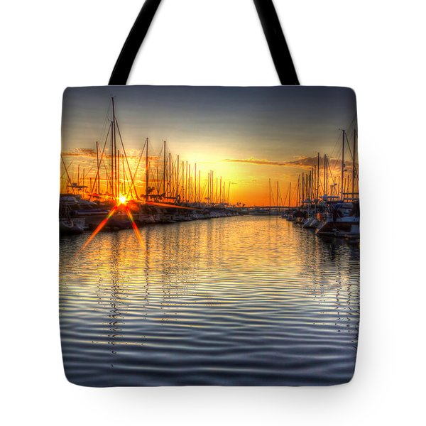 The Brightest Star In The Sky Tote Bag by Heidi Smith