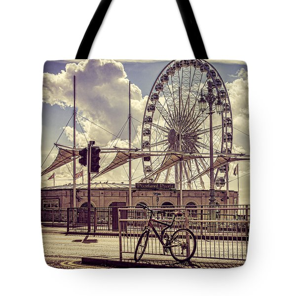 Tote Bag featuring the photograph The Brighton Wheel by Chris Lord