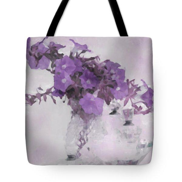 The Broken Branch - Digital Watercolor Tote Bag