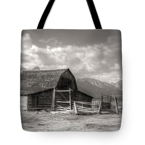 The Broken Fence Tote Bag by Kathleen Struckle