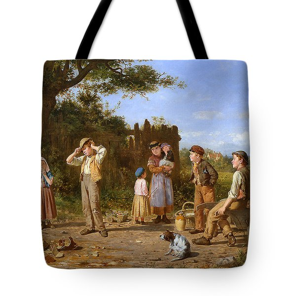The Broken Jar Tote Bag by J O Banks