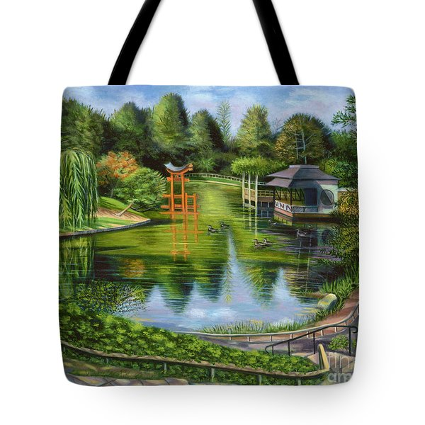 The Brooklyn Botanic Garden Tote Bag