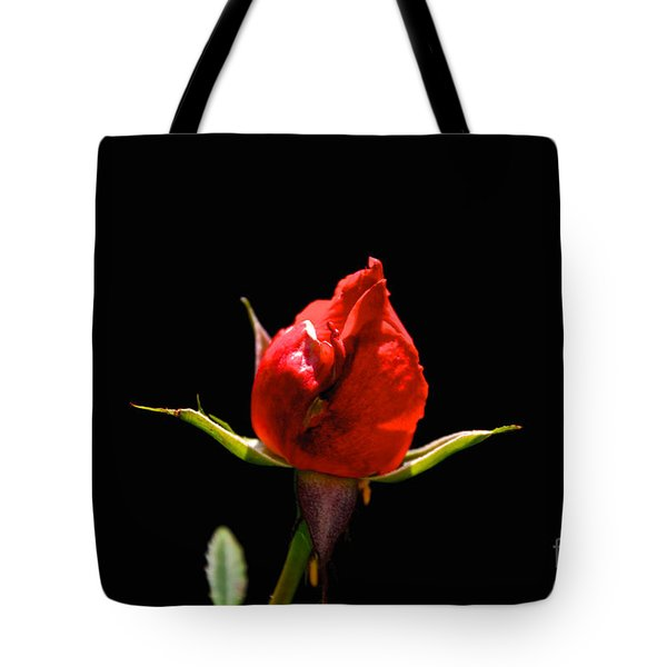 Tote Bag featuring the photograph The Bud by William Norton