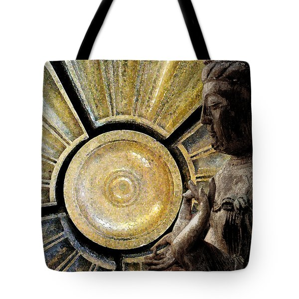the Buddha  c2014  Paul Ashby Tote Bag