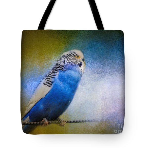 The Budgie Collection - Budgie 2 Tote Bag by Jai Johnson