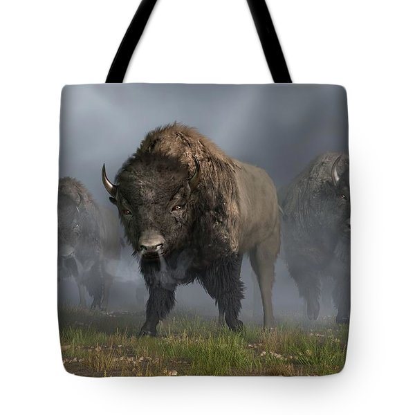 The Buffalo Vanguard Tote Bag by Daniel Eskridge