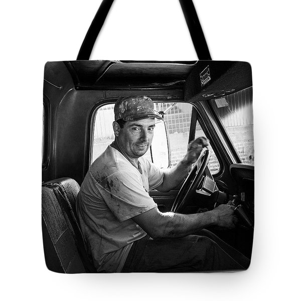 The Builder, Brazil Tote Bag