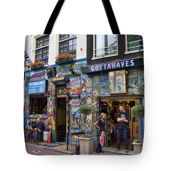 The Bulldog Coffee Shop - Amsterdam Tote Bag