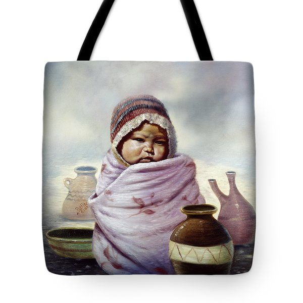The Bundle Tote Bag by Gregory Perillo