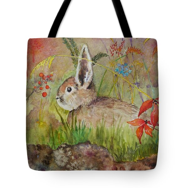 The Bunny Tote Bag by Mary Ellen Mueller Legault